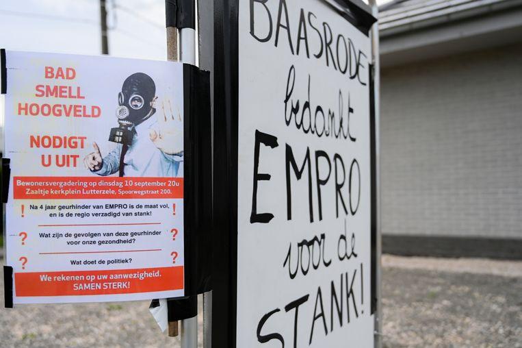 Actiecomité Bad Smell Hoogveld strijdt al jaren tegen de geurhinder van Empro.
