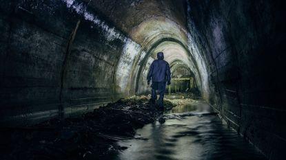 Kilometers gewandeld door stinkend riool: vermiste veertiger duikt plots op