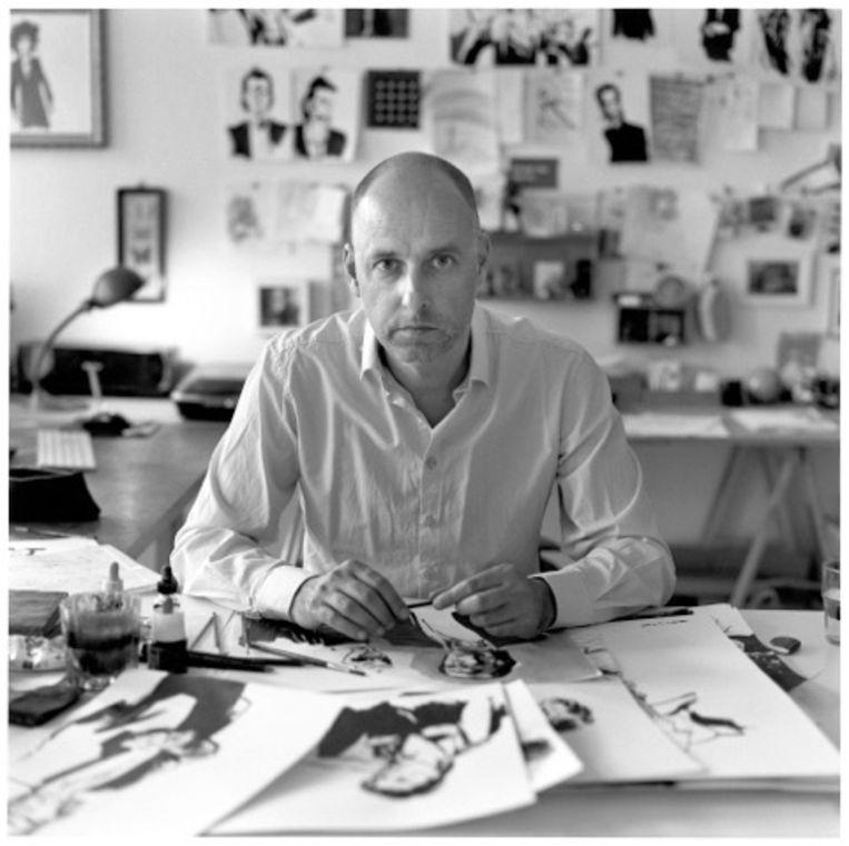 Stripbiograaf Reinhard Kleist. Beeld Wolf-Dieter Tabbert