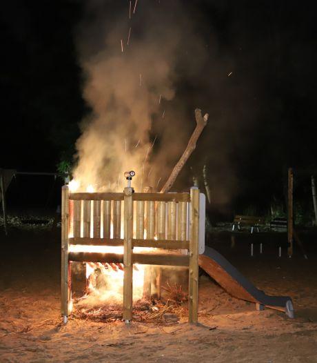 Jongen aangehouden voor brandstichting speeltoestel in Bohemen en Meer en Bos