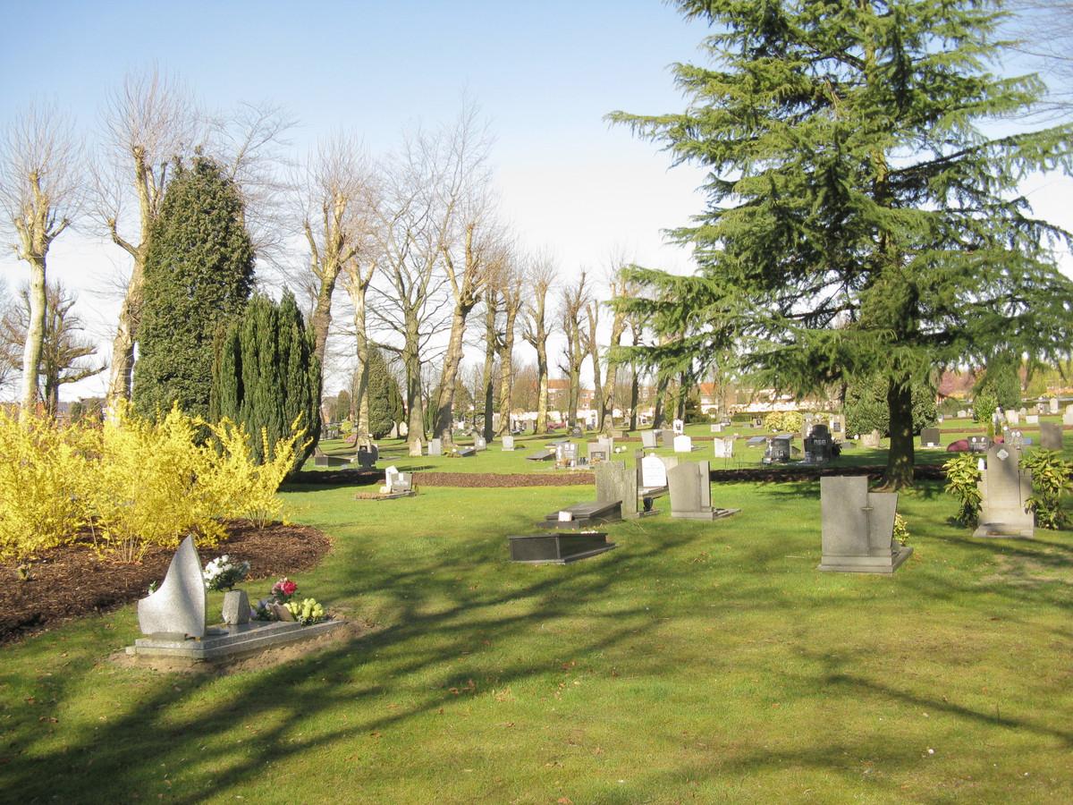 De verkrachting vond plaats op de Westerbegraafplaats in Mariakerke, een deelgemeente van de stad Gent.