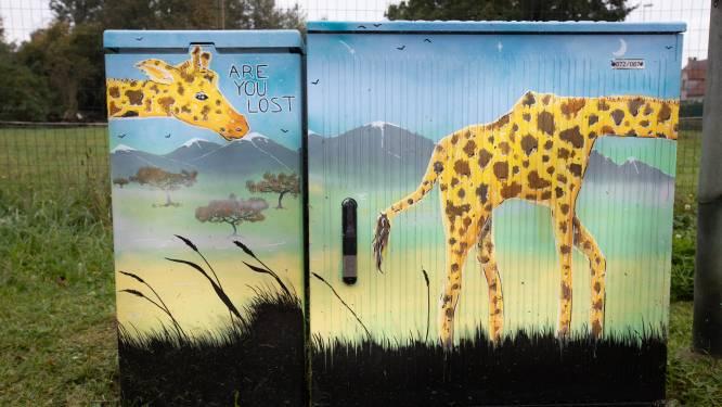 ZIEN. Lokale kunstenaars fleuren Zonhovense nutskasten op langs gloednieuwe fietsroute