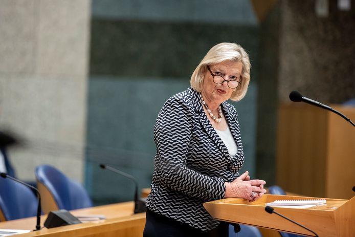 Staatssecretaris Broekers-Knol van Justitie en Veiligheid.