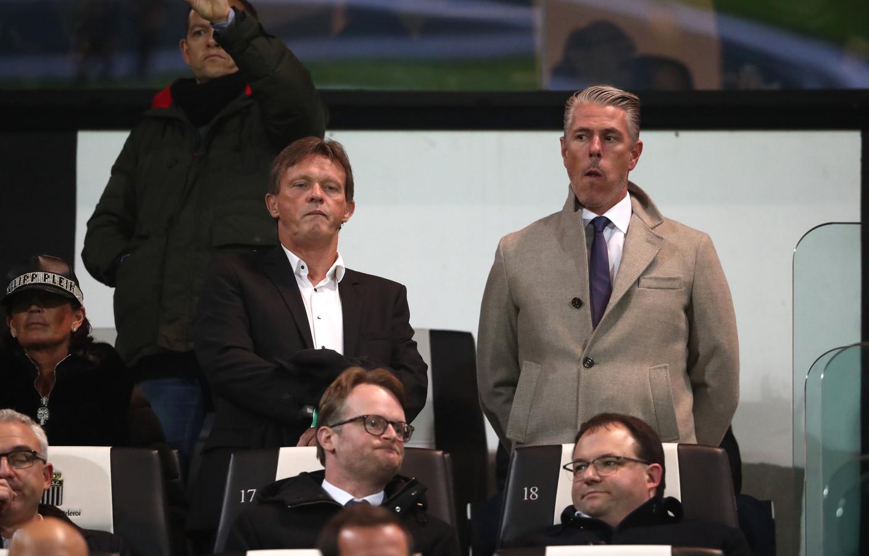 Frank Vercauteren keek  eerder deze maand nog toe vanaf de tribune.