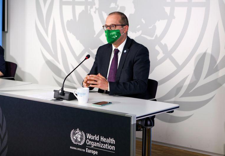 Europees regiodirecteur Hans Kluge van de WHO. Beeld AP