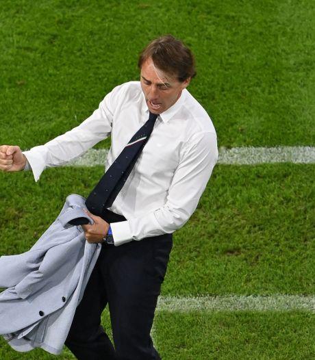"""Mancini: """"On a mérité de gagner, les joueurs ont été extraordinaires"""""""
