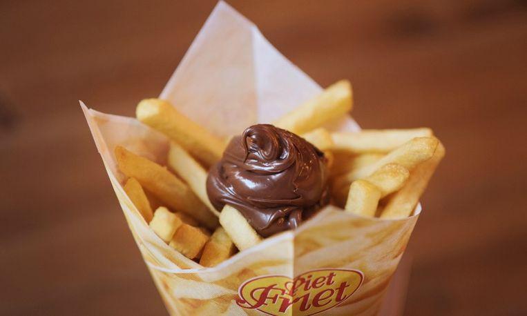 Friet met Nutella: lekker of niet?