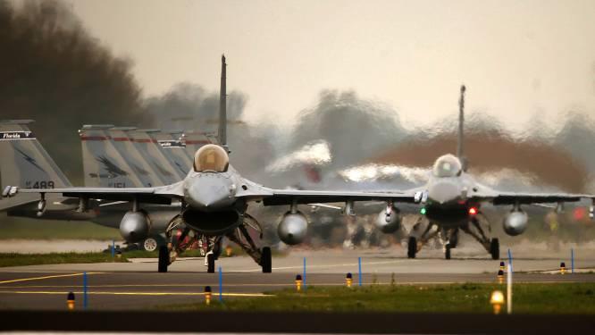 Nederlandse F-16's werpen ruim duizend bommen in Irak