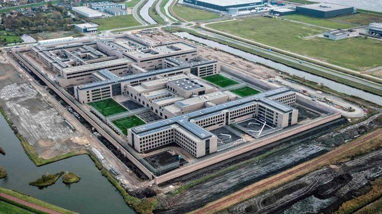 De gevangenis in Zaanstad. Beeld Ballast Nedam