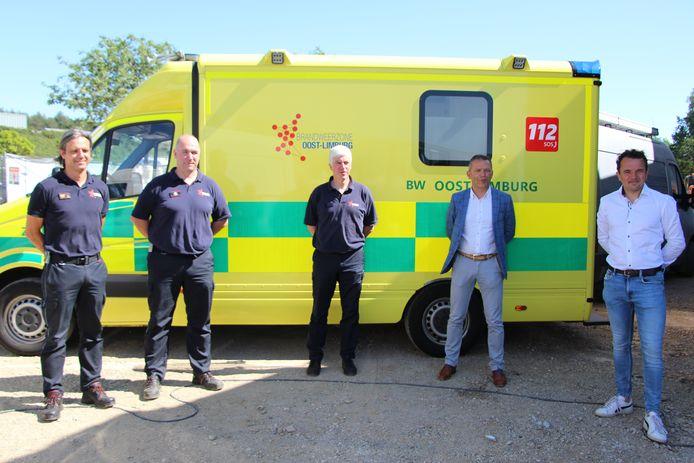 Een nieuwe ziekenwagen voor Brandweerzone Oost-Limburg