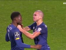 Pepe blijft Pepe: verdediger grijpt ploeggenoot bij de keel