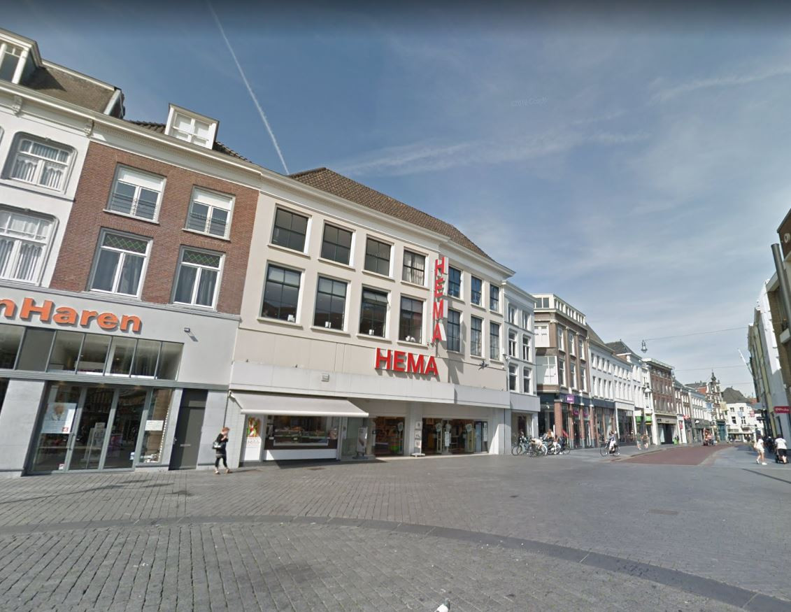 De Hema aan de Pensmarkt in Den Bosch