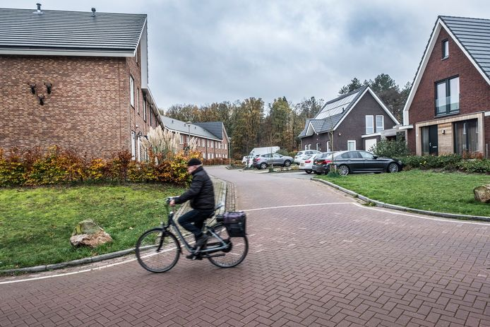 De Krekelstaat in de wijk de Stekkenberg in Groesbeek.
