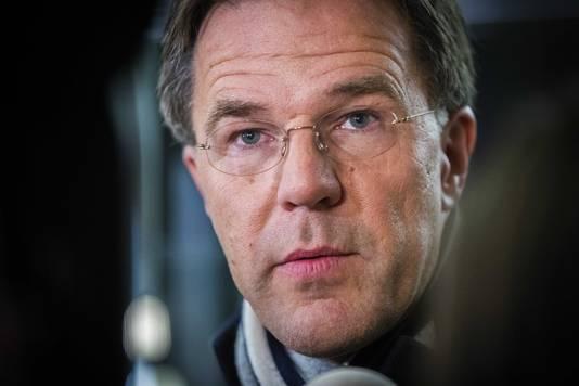 Mark Rutte na het stuklopen van pensioenoverleg met werkgevers en vakbonden.