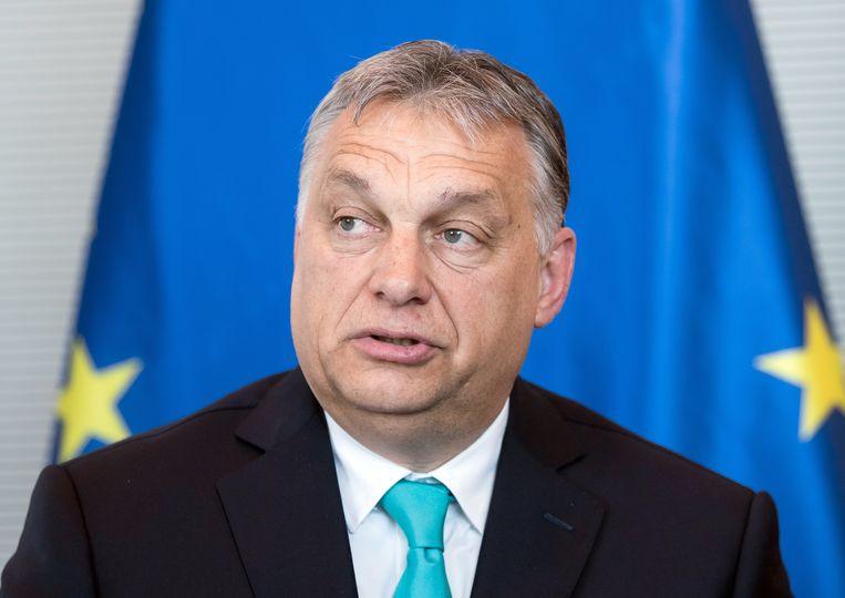 Viktor Orban. Beeld Bernd von Jutrczenka/dpa