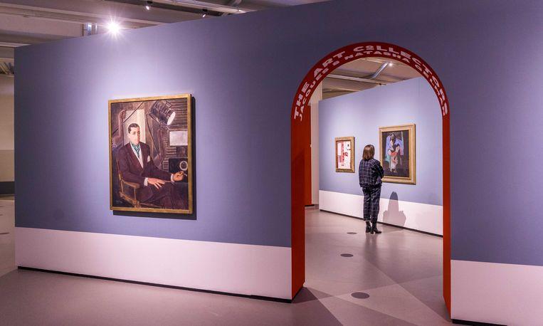 De tentoonstelling Frida Kahlo & Diego Rivera: A Love Revolution in het Cobra Museum in Amstelveen. Beeld ANP