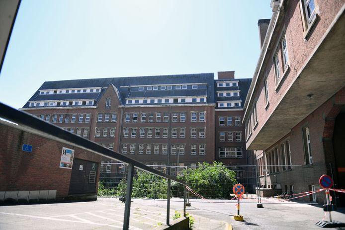 De oude verpleegstersschool in Leuven is al enkele jaren voorwerp van stevige discussies.