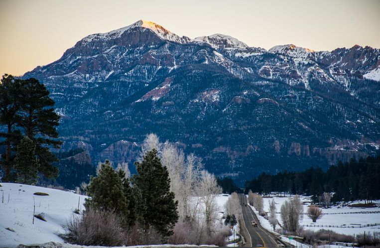 Rocky Mountains ski resort. Beeld thinkstock