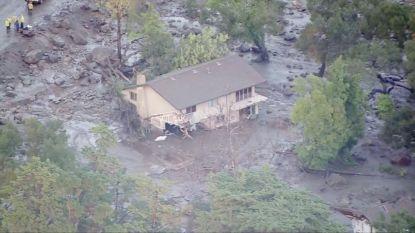 VIDEO: Ware ravage na modderstromen in Californië