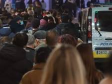 Les rues de Madrid bondées de monde à l'approche de Noël