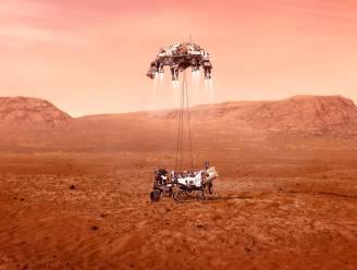 Volg de landing van de Perseverance robotjeep op Mars bij HLN LIVE