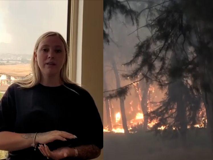 """Vlamingen in Turkije getuigen over de felle bosbranden: """"Het lijkt alsof de hele stad in brand staat"""""""