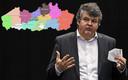 Vlaams minister van Binnenlands Bestuur Bart Somers (Open Vld) wil Vlaanderen opdelen in 13 regio's.