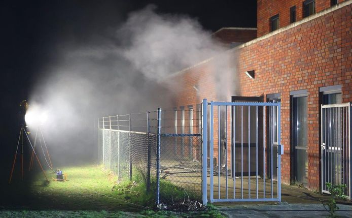 Grote schade aan Maurick College na brand.