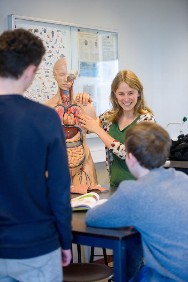Sofie Faes is lerares biologie op het Heerbeeck College in Best.