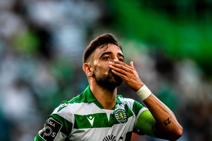 Bruno Fernandes, de belangrijkste speler van Sporting