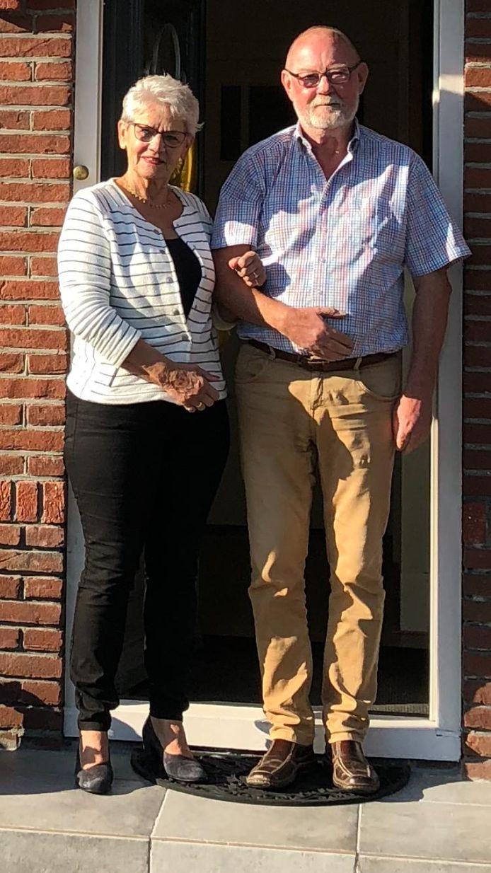 Martin Schuite met zijn vrouw Geja.