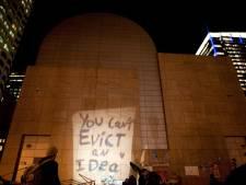 Ook einde aan Occupy Boston