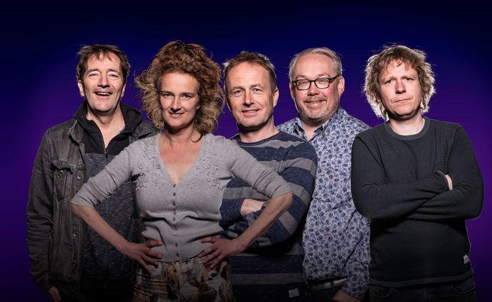 Pro-test, lockdowntheater van André Manuel, Nathalie Baartman, Bert Eeftink, Jan Riesewijk en Thijs Kemperink.