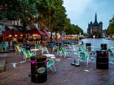 Terrassen Deventer blijven hele jaar groter en Fietskoerier gaat ook vanaf Flora bezorgen