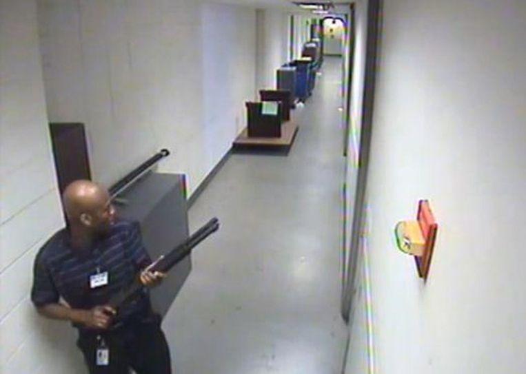 Screenshot van de FBI-video. Beeld YouTube