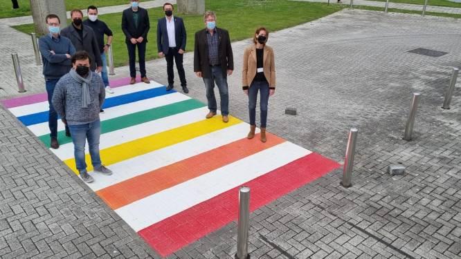 "Regenboogzebrapad aan AC Auris: ""Ieper omarmt diversiteit"""