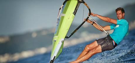Windsurfers nog vol aan de bak om medalrace te halen