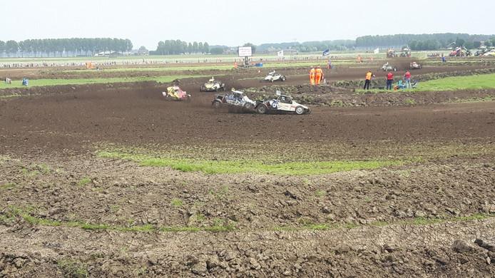 Het nieuwe parcours in Rosmalen heeft veel bochten