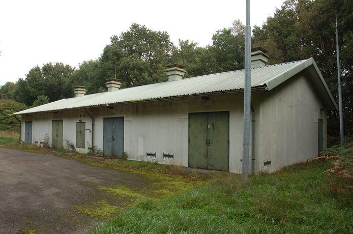 Een van de bunkers op het mobilisatiecomplex in Alverna.