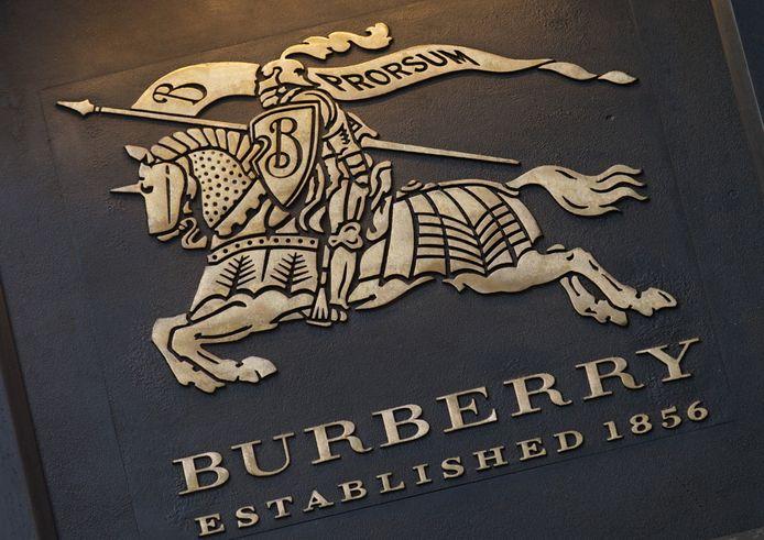 Een Burberry-winkel in Londen.