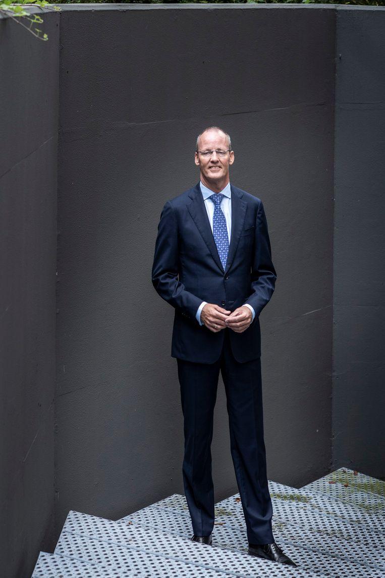 Klaas Knot, president van De Nederlandsche Bank: 'Populariteit is geen doel op zich voor de president van een centrale bank. Daarom geniet ik een hoge mate van ontslagbescherming.' Beeld Linelle Deunk