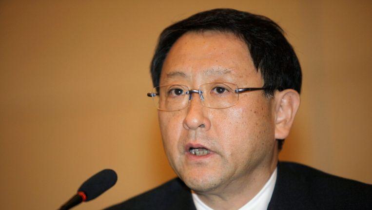 Toyota topman Akio Toyoda Beeld REUTERS