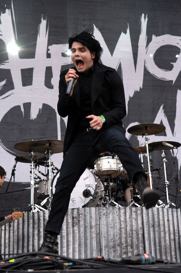 My Chemical Romance op Rock Werchter in 2007.  Beeld