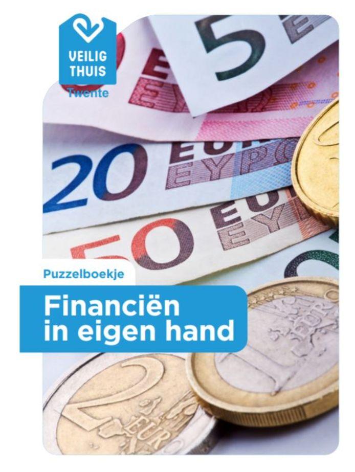 Het puzzel- en informatieboekje van Veilig Thuis Twente.
