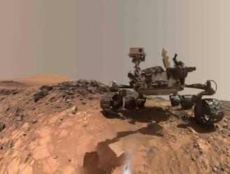 Marsjeep vindt verrassend mineraal op rode planeet