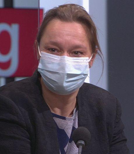 """Erika Vlieghe après le rassemblement à Flagey: """"La réouverture des terrasses a eu lieu trop tôt"""""""