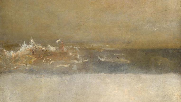 William Turner, Three Sea scapes(ca. 1827). Tate, Londen. Beeld William Turner