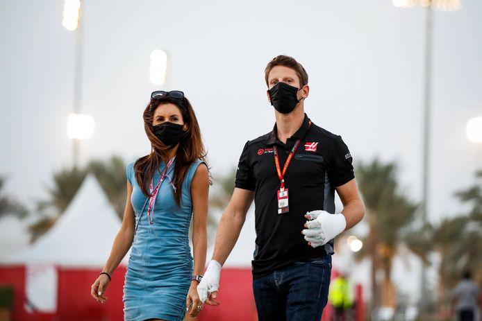 Romain Grosjean komt dit weekend niet in actie tijdens d GP in Abu Dhabi. Hij heeft nog teveel last van zijn brandwonden op zijn hand.