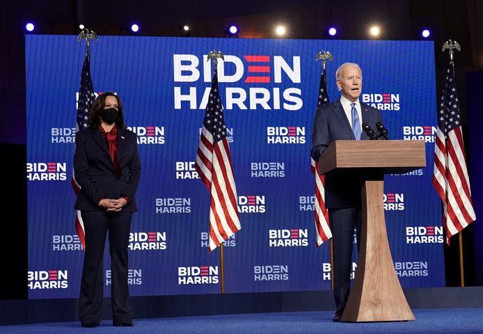 Joe Biden en Kamala Harris