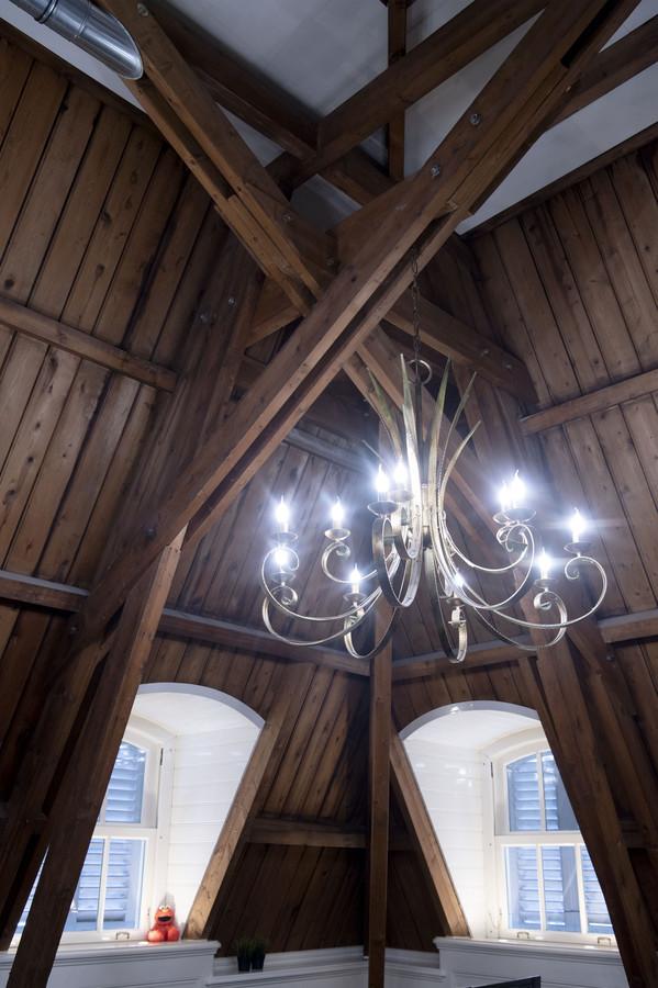 Rijksmonumentale villa Van Heek heeft veel bijzondere hoekjes.